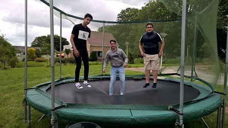 8 juli 2019 trampoline